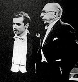 Aaron Copland e Glenn Gould