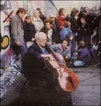 Rostropovich il Muro di Berlino e Bach nel 1989